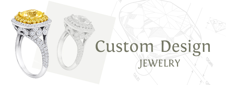 Metal Stone Fine Jewelry Custom Jewelry Metal Stone fine jewelry