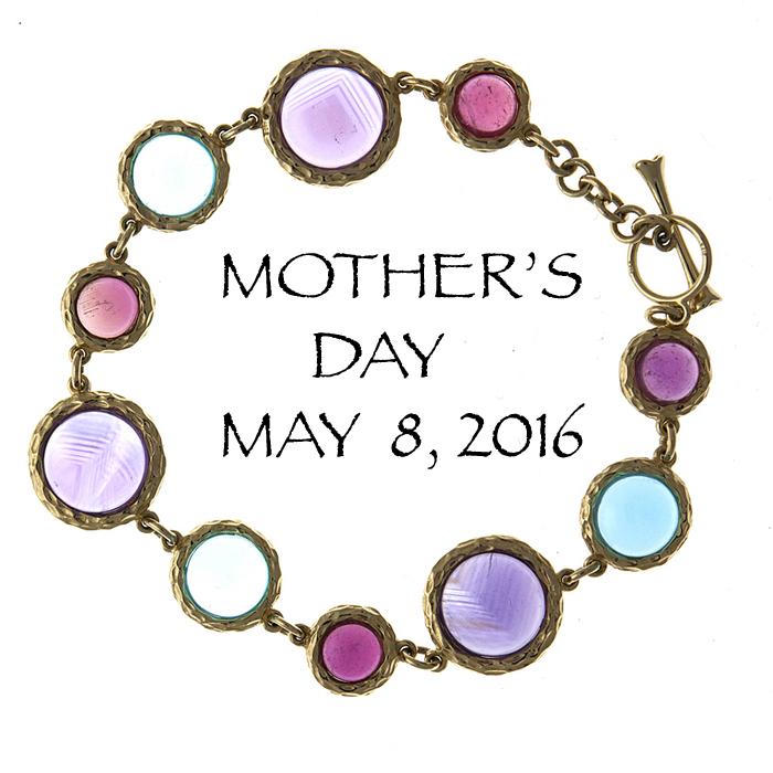 muli-color bracelet for Mother's Day