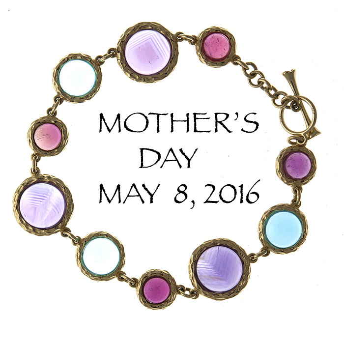 muli-color bracelet for Mother's Day